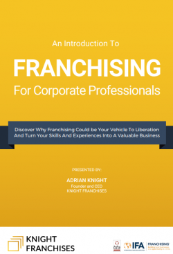 Career Relaunch with Joseph Lui and featuring Adrian Knight from Knight Franchises